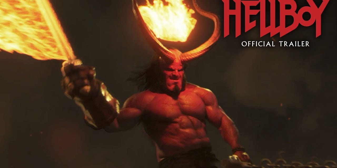 "Hellboy (2019 Movie) New Trailer ""Green Band"" – David Harbour, Milla Jovovich, Ian McShane"