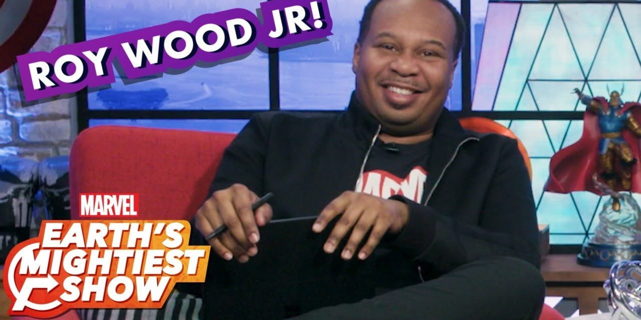 The Daily Show's Roy Wood Jr. writes Spider-Man 2099 captions!