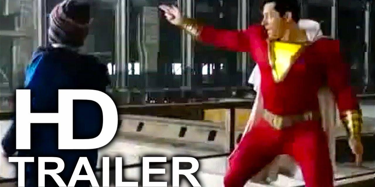 SHAZAM Doing Caped Crusader Stuff Trailer NEW (2019) Superhero Movie HD