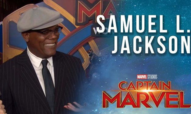Samuel L. Jacksonopens up about Young Nick Fury in the MCU! | Captain Marvel Red Carpet Interview