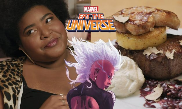 Dulcé Sloan and the Storm-inspired Tournedos of Beef | Eat the Universe