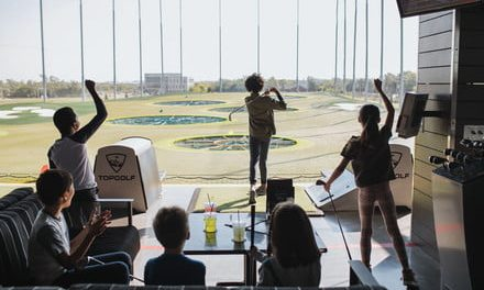 Thanks to Toptracer tech, the driving range may be the best place for a party