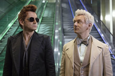 Amazon's Good Omens trailer welcomes you to the end of the world