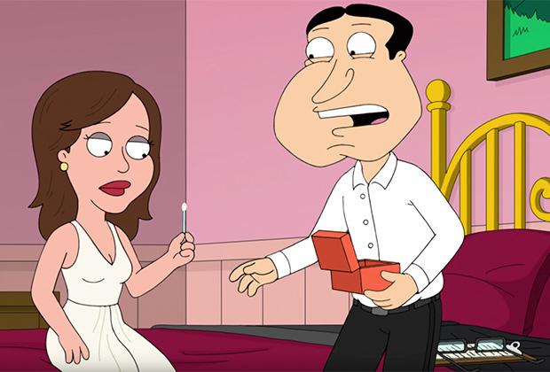 Family Guy Sneak Peek: Quagmire's Secret Daughter Is… Mandy Moore?!