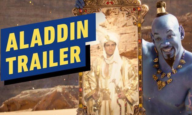 Aladdin – Official Trailer (2019) Will Smith, Naomi Scott, Mena Massoud