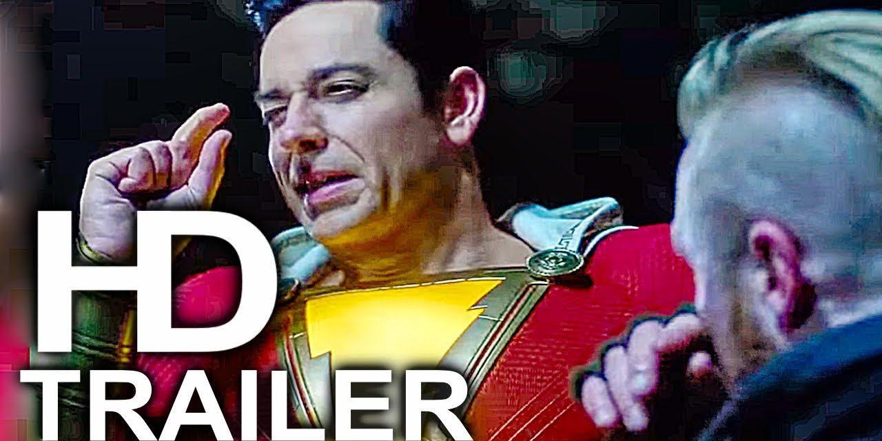 SHAZAM Almost Cool As Superman Trailer NEW (2019) Superhero Movie HD