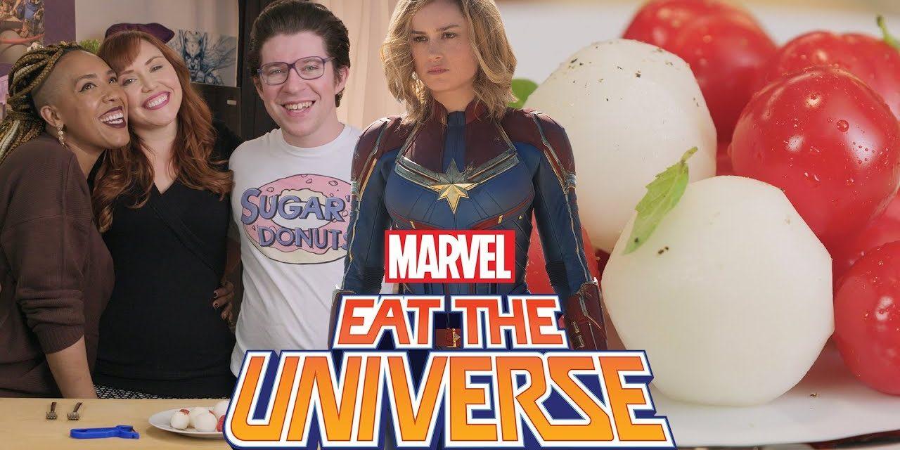 Captain Marvel Skrull-Inspired Salad | Eat the Universe