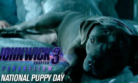 "John Wick: Chapter 3 – Parabellum (2019 Movie) ""Happy National Puppy Day"" – Keanu Reeves"