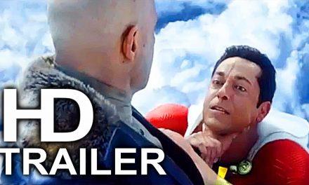 SHAZAM Learns How To Fly Scene Clip + Trailer NEW (2019) Superhero Movie HD