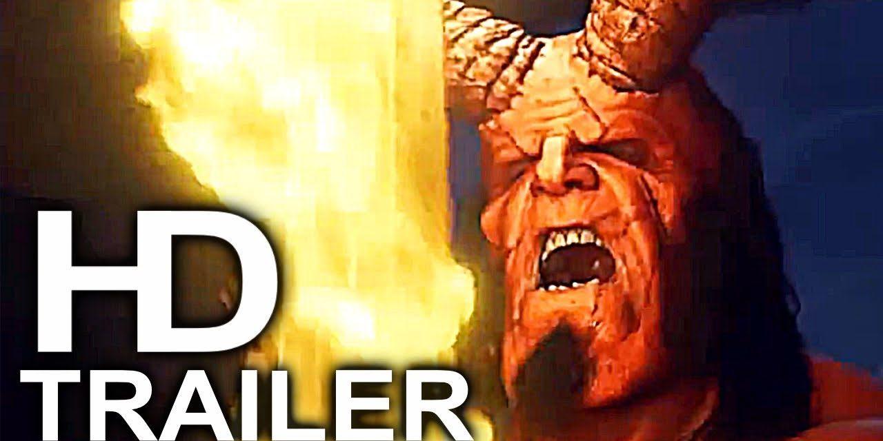 HELLBOY Giant Monsters Fight Trailer NEW (2019) Superhero Movie HD