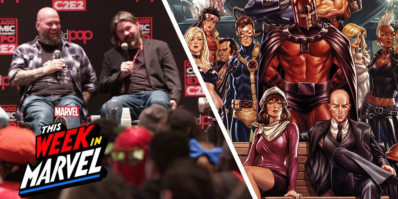 Jonathan Hickman's X-Men series  and other Big News from C2E2!   This Week in Marvel