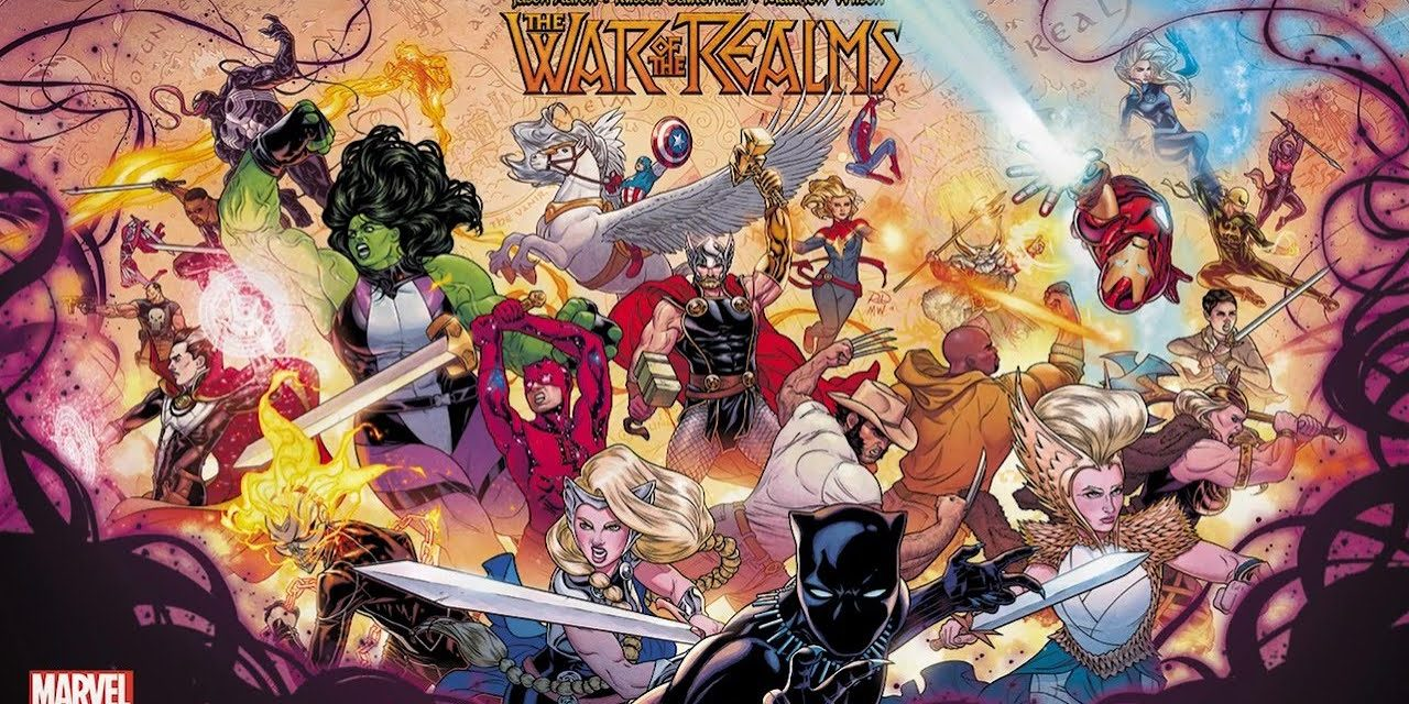 Official WAR OF THE REALMS Soundtrack Theme