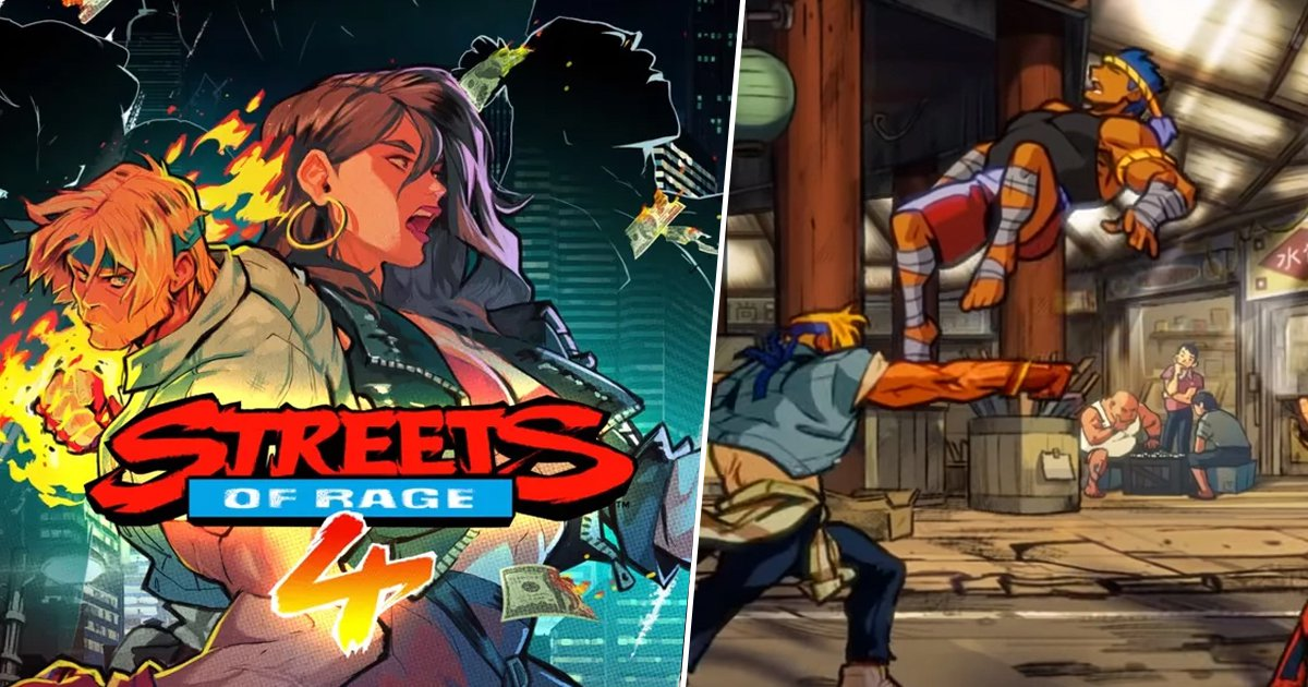 Streets Of Rage 4 Gameplay Reveal Trailer Is A Gorgeous Nostalgia Hit