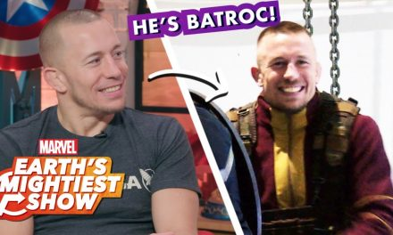Which Avenger Does Georges St-Pierre Say He Fights Like?  | Earth's Mightiest Show