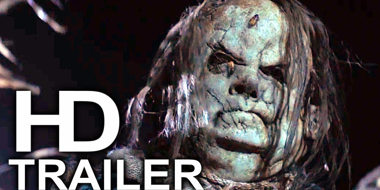 SCARY STORIES TO TELL IN THE DARK Trailer #1 NEW (2019) Guillermo Del Toro Horror Movie HD