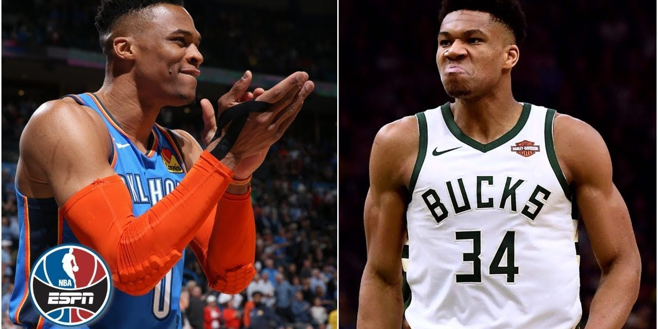 Giannis, Russell Westbrook 'are the most competitive in the NBA today' – Paul Pierce   NBA Countdown