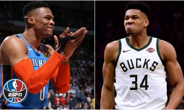 Giannis, Russell Westbrook 'are the most competitive in the NBA today' – Paul Pierce | NBA Countdown