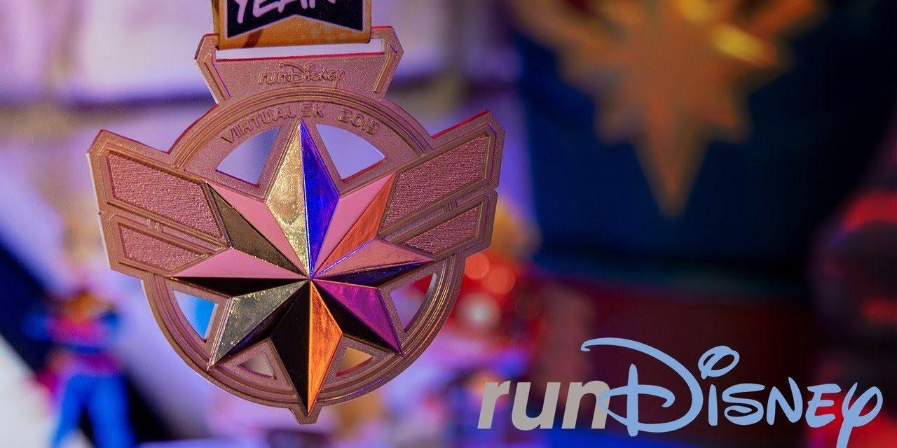 Captain Marvel 5k Medal Reveal!   RunDisney + Marvel's 80th