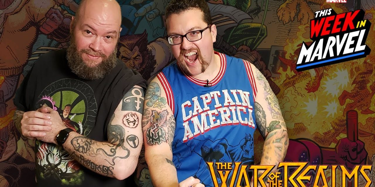 We Got WAR OF THE REALMS Tattoos! | This Week in Marvel
