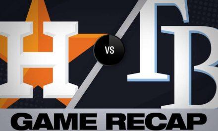 Springer, Verlander lead Astros to 5-1 win – 3/28/19