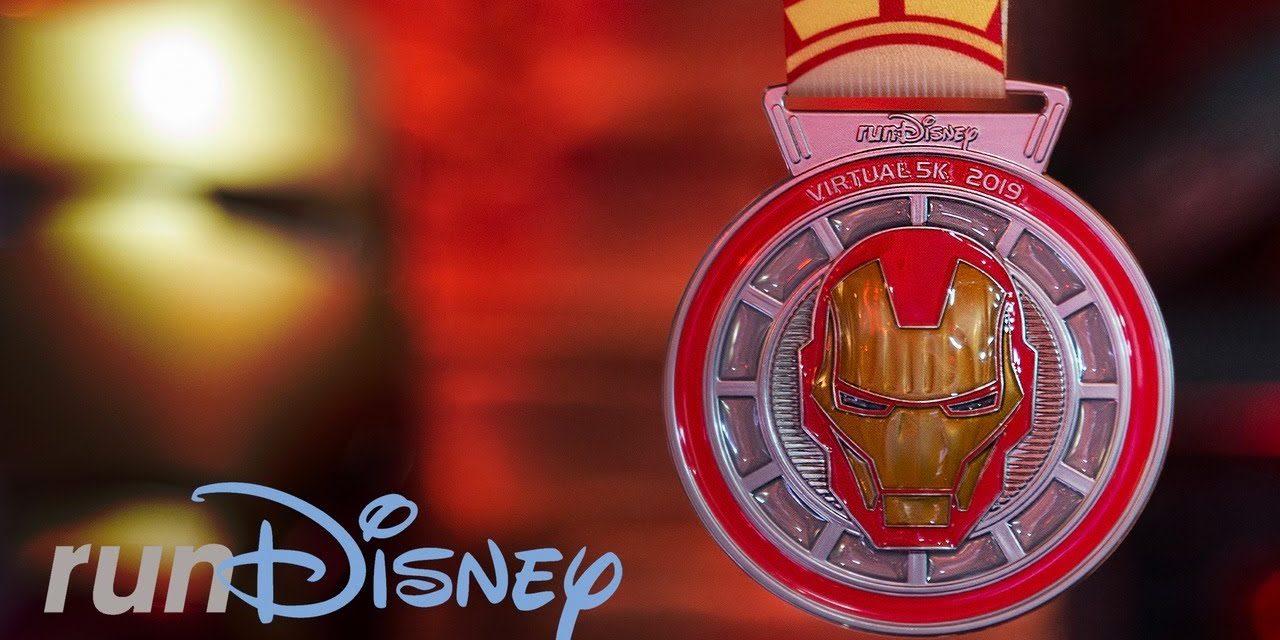 Iron Man runDisney Virtual 5K Medal Revealed | Registration Is Open!