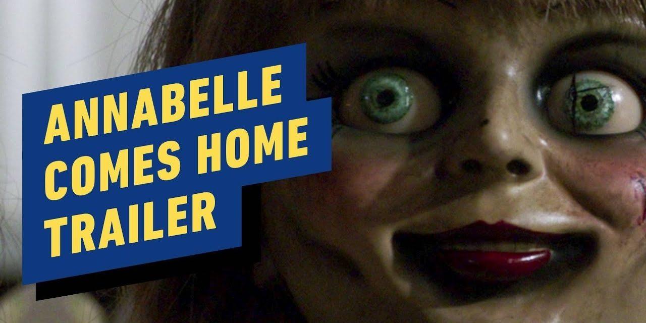 Annabelle Comes Home Trailer #1 (2019)  Vera Farmiga, Mckenna Grace