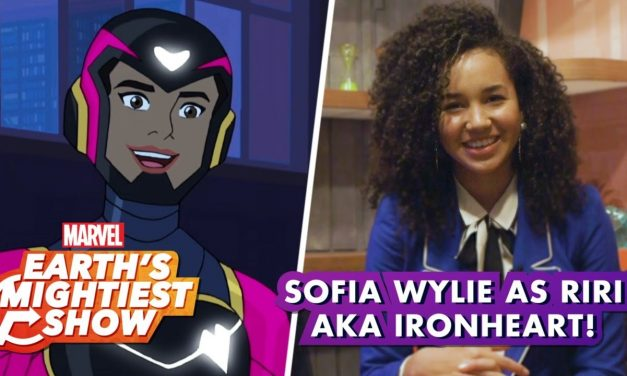 Sofia Wylie on Becoming Ironheart in Marvel Rising: Heart of Iron | Earth's Mightiest Show Bonus