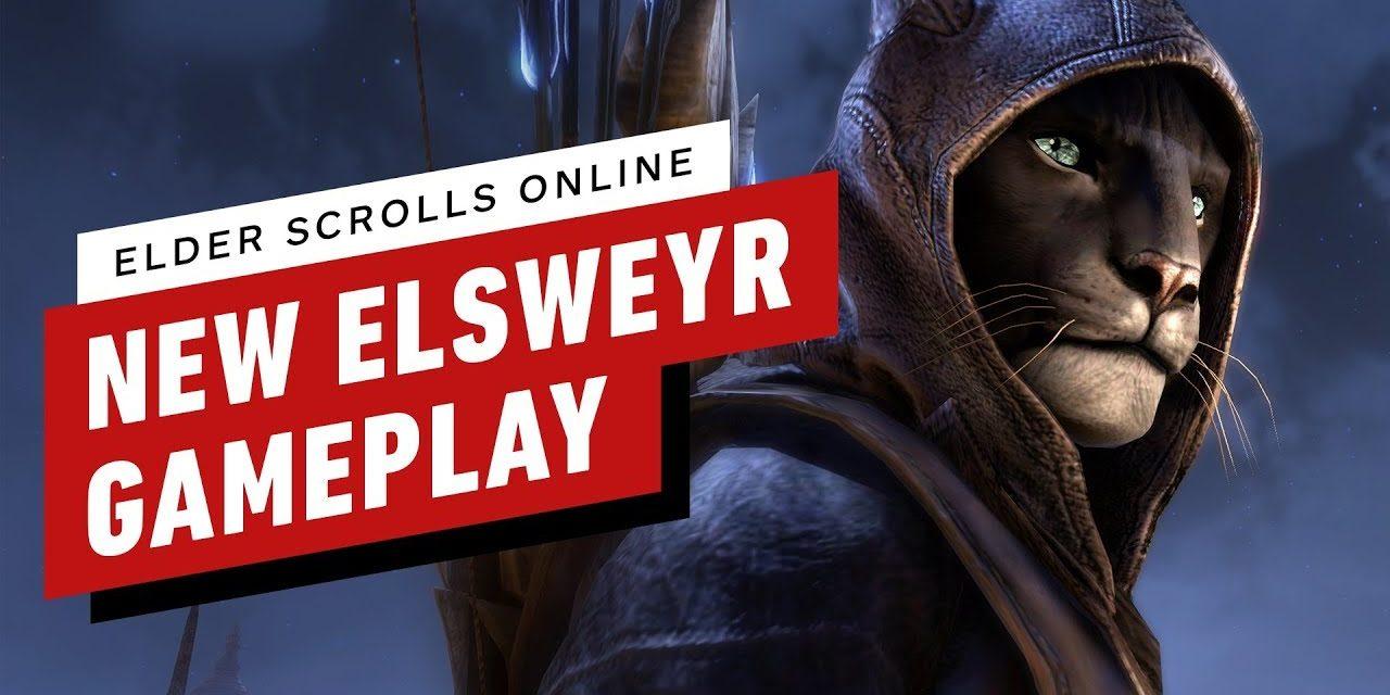 Elder Scrolls Online Elsweyr: 5 Minutes of Necromancer Gameplay