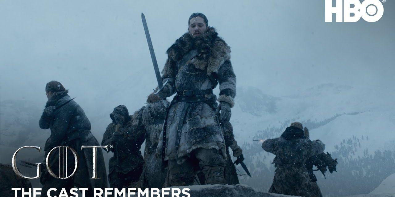 The Cast Remembers: Kit Harington on Playing Jon Snow | Game of Thrones: Season 8 (HBO)