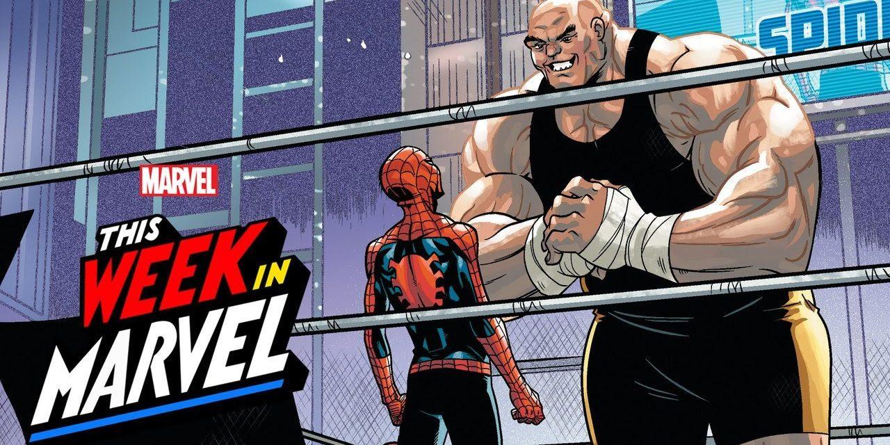 Spider-Man Rap Battle with James Monroe Iglehart! | This Week in Marvel
