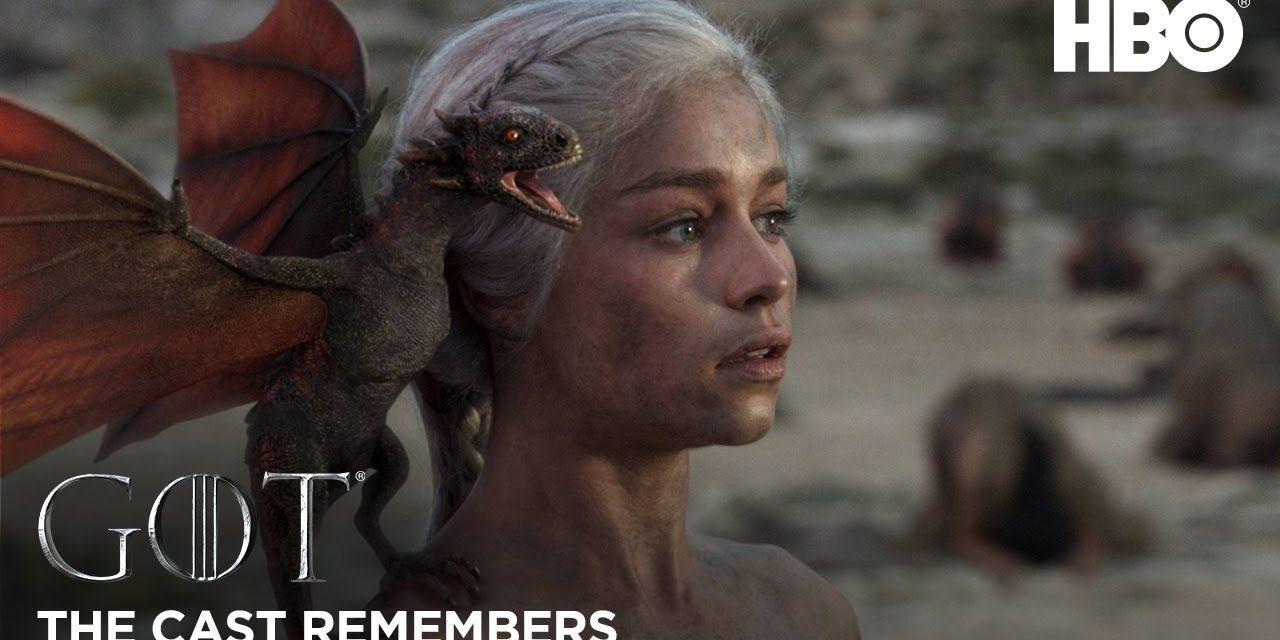 The Cast Remembers: Emilia Clarke on Playing Daenerys Targaryen   Game of Thrones: Season 8 (HBO)