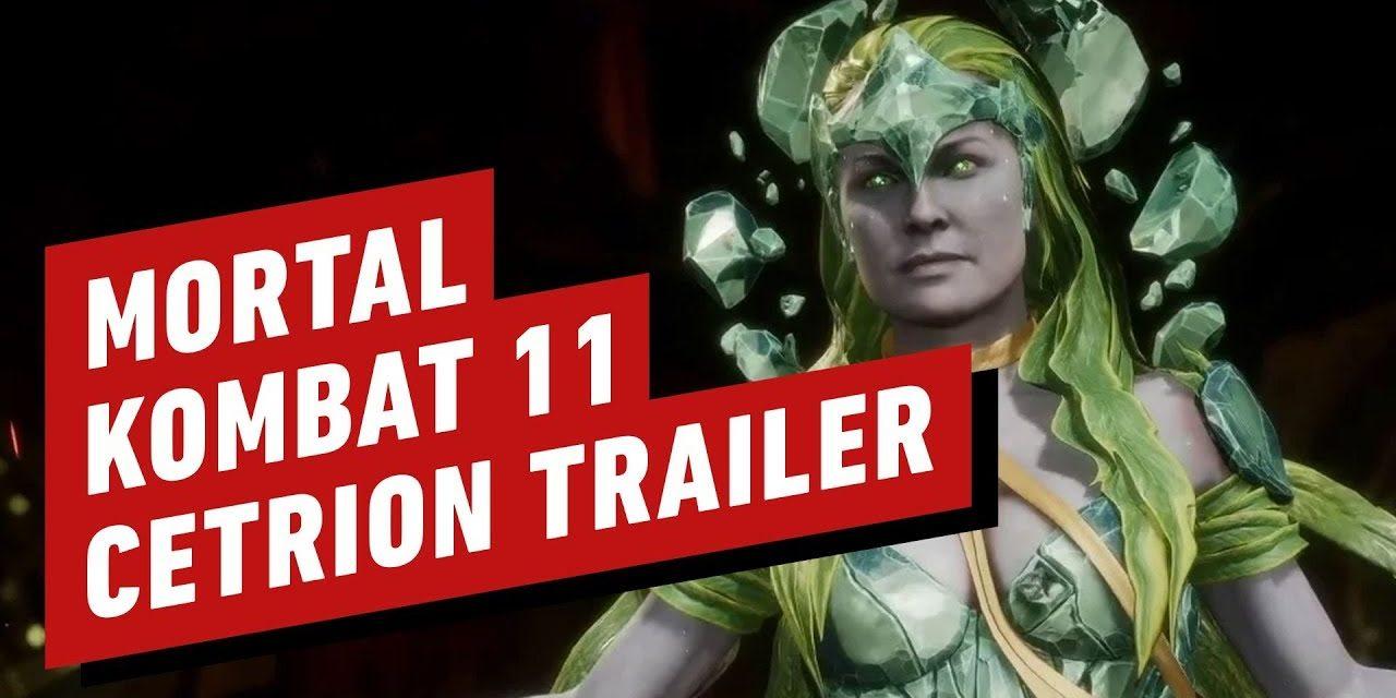 Mortal Kombat 11 – Official Cetrion Reveal Trailer | Movie Signature