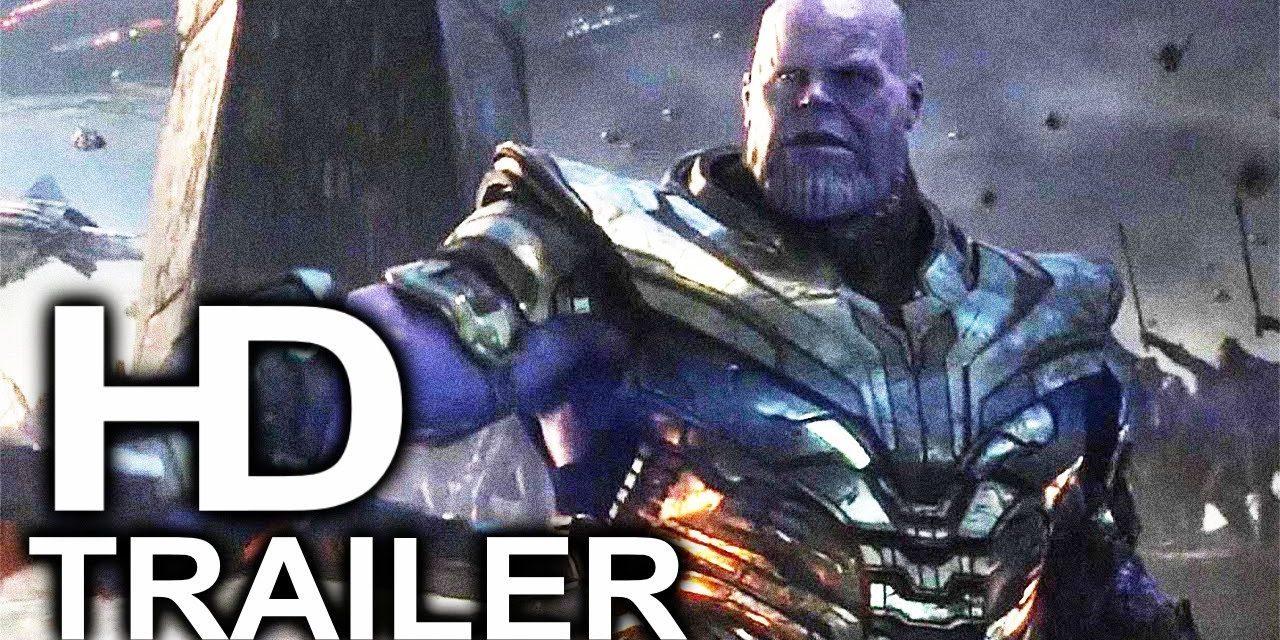 AVENGERS 4 ENDGAME Thanos Tries To Kill Iron Man Trailer NEW (2019) Marvel Superhero Movie HD