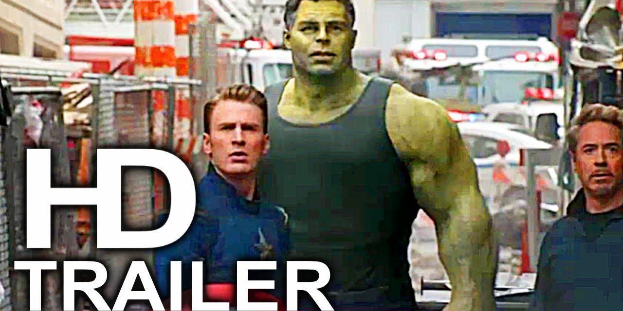 AVENGERS 4 ENDGAME Professor Hulk & Iron Man Rescue Trailer NEW (2019) Marvel Superhero Movie HD