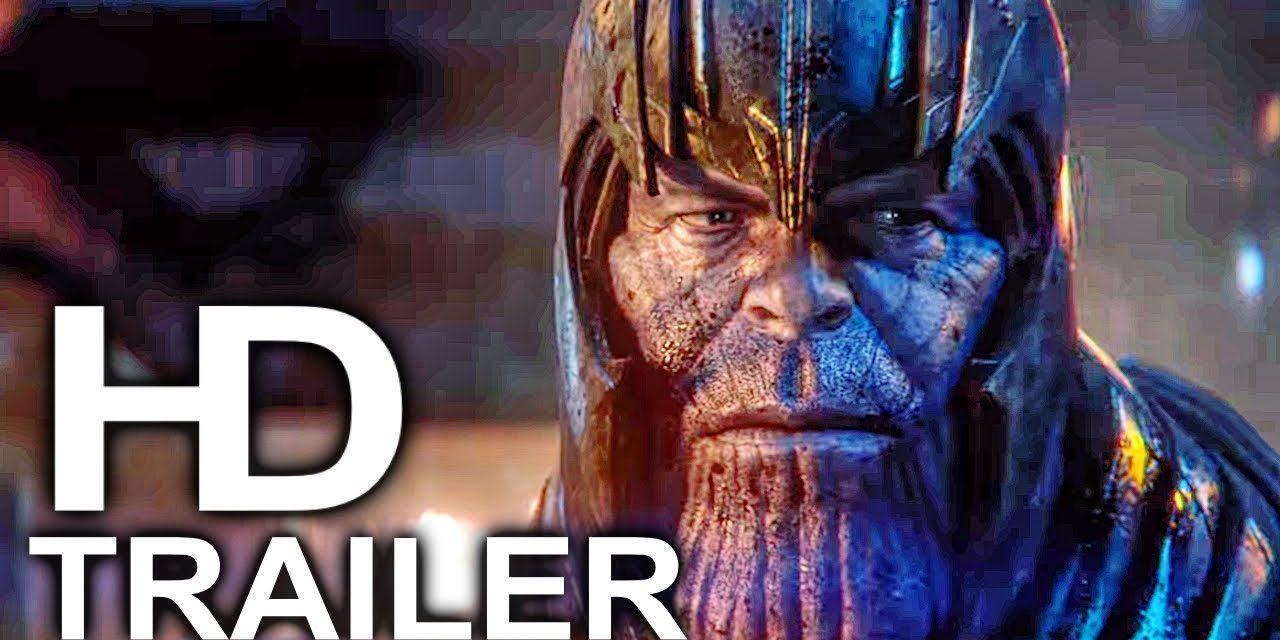 AVENGERS 4 ENDGAME Thanos Is Angry Trailer NEW (2019) Marvel Superhero Movie HD