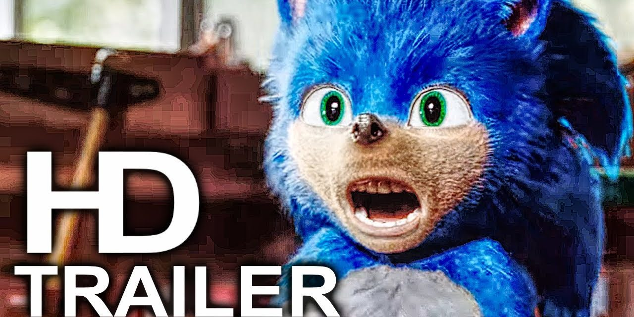 SONIC THE HEDGEHOG Trailer #1 NEW (2019) Jim Carrey Sonic Movie HD