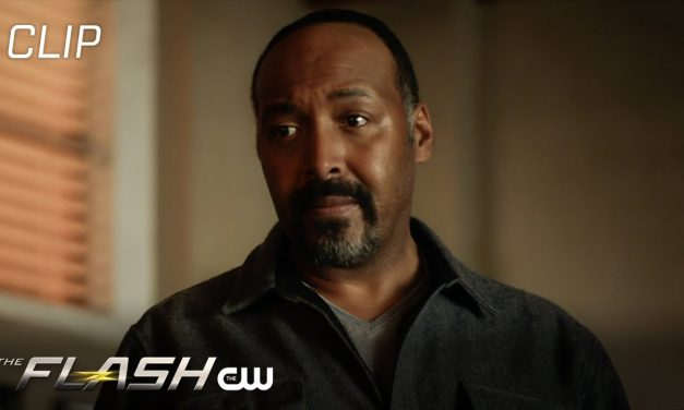 The Flash | The Girl With The Red Lightning Scene | The CW