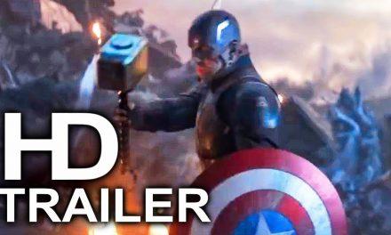 AVENGERS 4 ENDGAME Captain America Lifts Thor's Hammer Mjolnir Trailer (2019) Superhero Movie HD