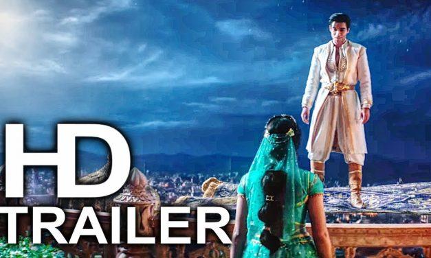 ALADDIN Magic Carpet Ride Scene Clip + Trailer (2019) Will Smith Disney Live Action Movie HD