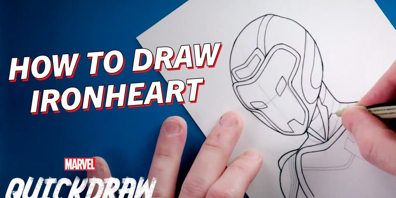 Learn how to draw Ironheart! | Marvel Quickdraw How-To