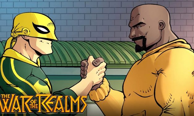 WAR OF THE REALMS, IRON FIST: ULTIMATE COMICS #3