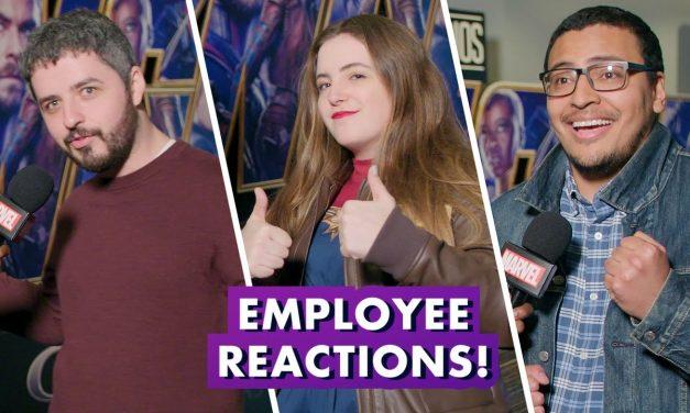 Marvel Employees React to Marvel Studios' Avengers: Endgame   Earth's Mightiest Show Bonus