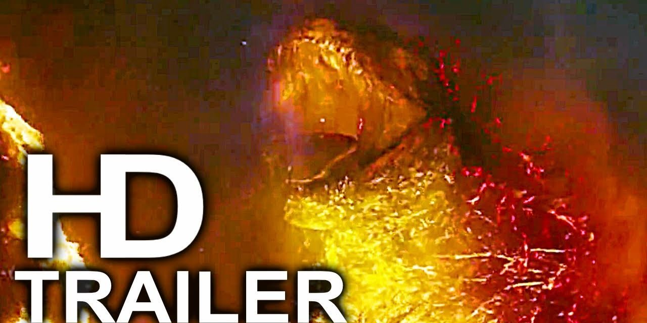 GODZILLA 2 Fire Godzilla Awakens Trailer NEW (2019) King Of The Monsters Action Movie HD