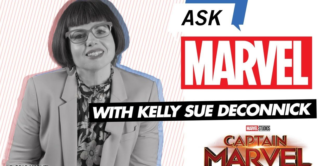 Kelly Sue DeConnick, Writer of Captain Marvel   Ask Marvel