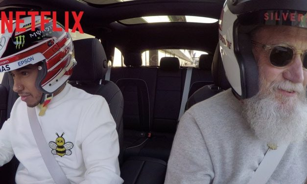 Lewis Hamilton In A Station Wagon | My Next Guest Needs No Introduction With David Letterman Netflix