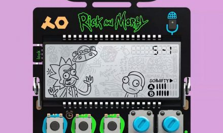 Get schwifty and snag this Rick and Morty-themed pocket synth before it's gone