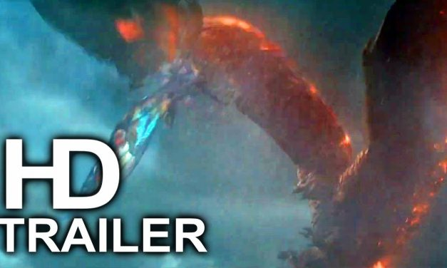GODZILLA 2 Rodan Vs Mothra Fight Scene Trailer NEW (2019) King Of The Monsters Action Movie HD