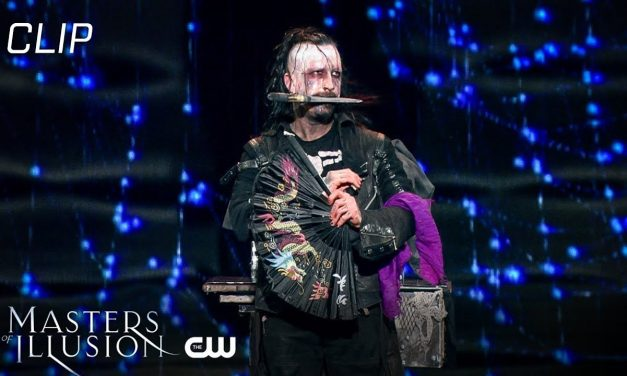 Masters of Illusion   Goth Magic, Deceptive Antics, And Water Submersion Scene   The CW