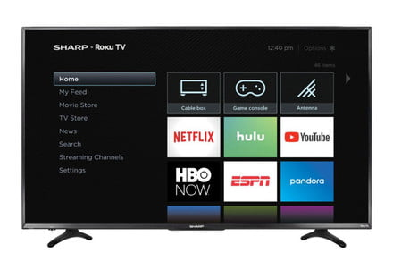 You won't find a better deal on a 55-inch Sharp 4K TV than this one