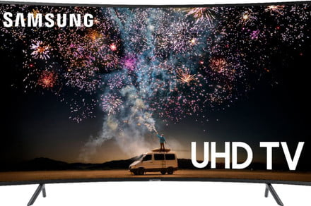 Best Buy drops a great deal on this 65-inch Samsung 4K curved TV